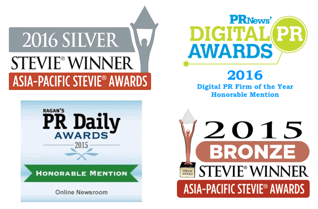 McGallen & Bolden, multi award-winning digital marketing & PR Agency in Singapore - Silver Asia-Pacific Stevie Winner for Most Innovative PR Agency of the Year 2016, Honorable Mention for PRNews Digital PR Awards Digital PR Firm of the Year 2016, Bronze Winner Best Industry Websites Asia Pacific Stevie 2015, and Ragan's PR Daily Awards 2015 Honorable Mention for Best Online Newsroom for microwire.info.
