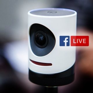 Mevo Facebook Live livestreaming camera system
