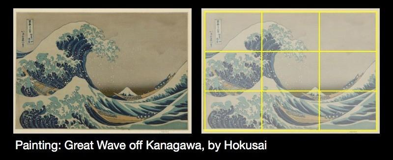 Painting: Great Wave off Kanagawa, by Hokusai