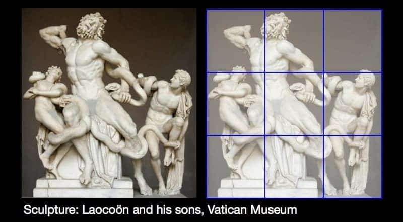 Sculpture: Laocoön and his sons, Vatican Museum