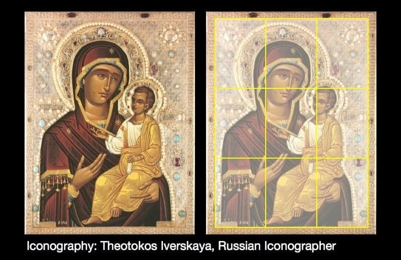 Iconography: Theotokos Iverskaya, Russian Iconographer