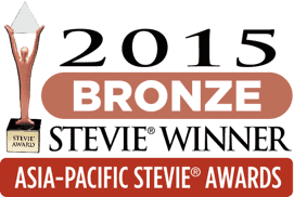 Stevie Awards Asia Pacific 2015 - Bronze Award