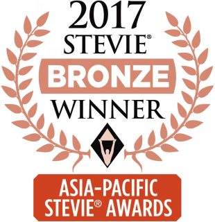 Bronze winner - Asia Stevie®, Most Innovative PR Agency of the Year - McGallen & Bolden Pte Ltd, Singapore